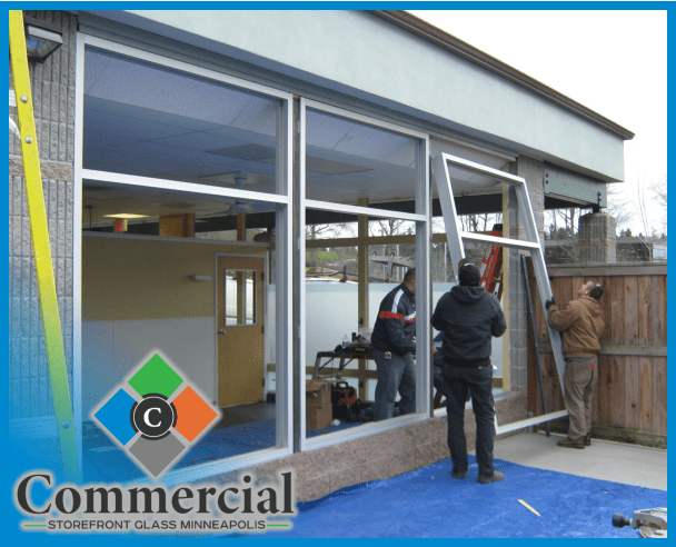79 commercial storefront glass minneapolis repair install glass install 4 (1)