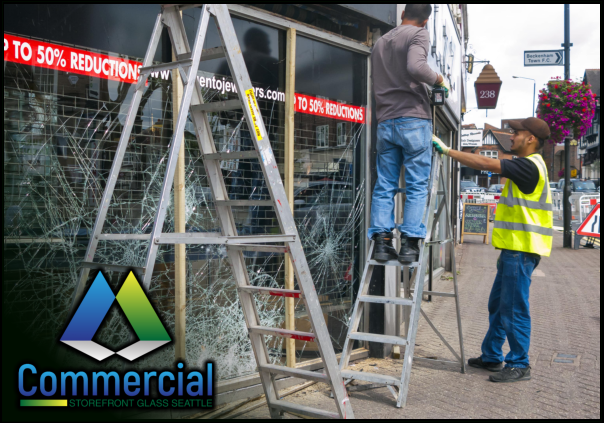 80 commercial storefront glass seattle repair install commercial glass installation 2