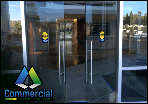 84 commercial storefront glass seattle repair install door repair 4