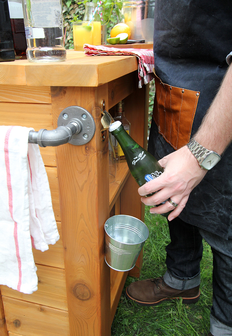 DIY Outdoor Bar - Merry Mag - Storefront Life on Best Backyard Bars id=35485