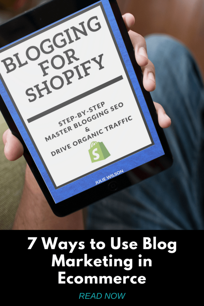 Blog Marketing for Shopify
