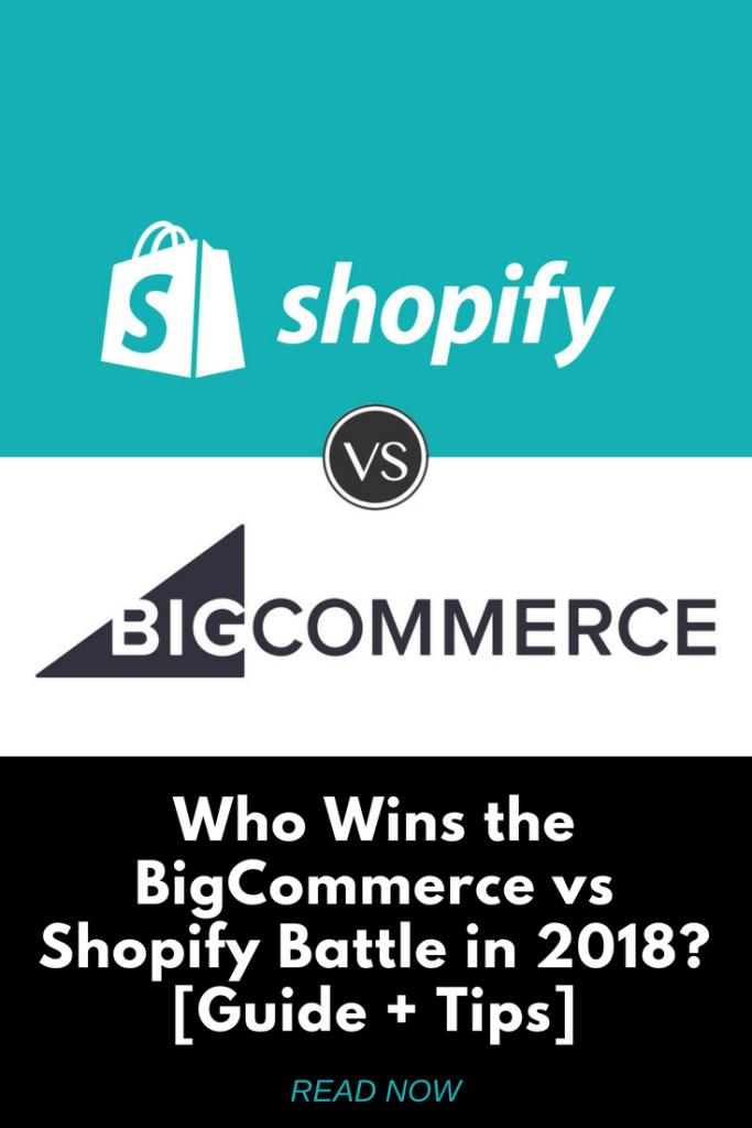 Shopify Vs BigCommerce Battle of