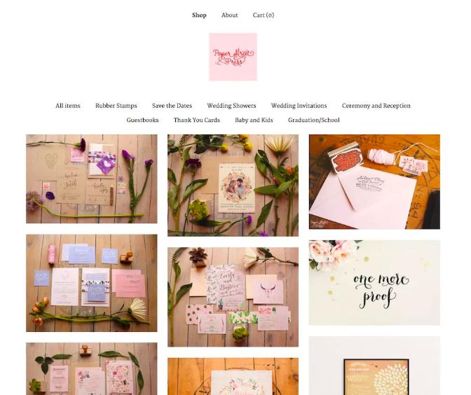 etsy pattern store