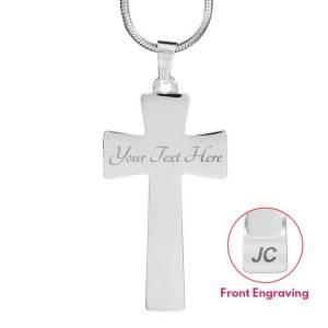 ShineOn Jewelry Cross Engraving