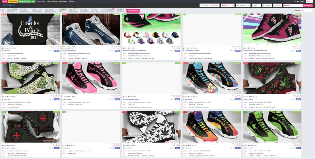 Print on Demand Shoes