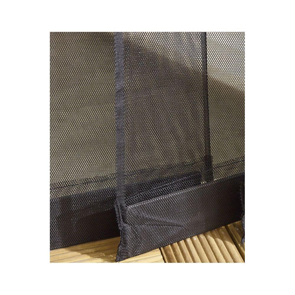 moustiquaire rideau de porte a clipser