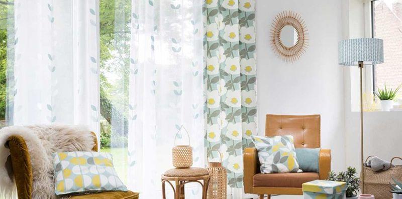 5 idees originales pour vos rideaux