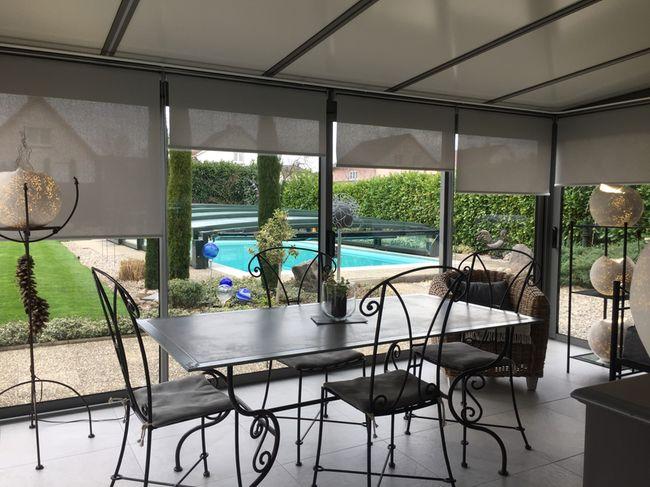 stores anti chaleur pour veranda