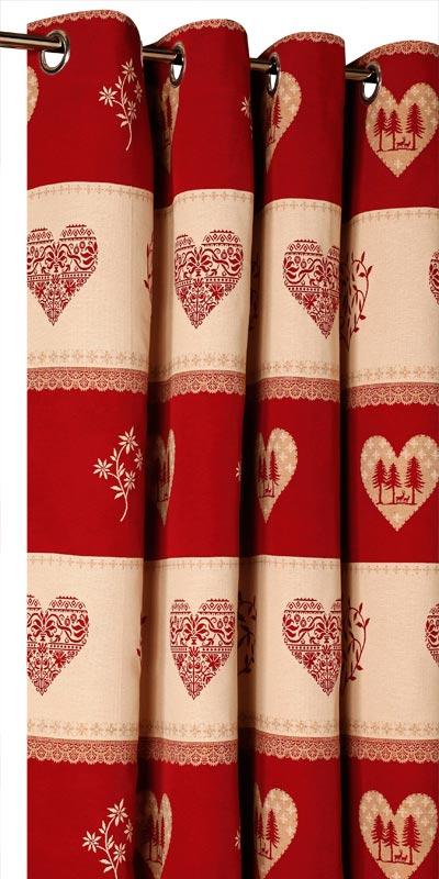 achat de rideaux montagne sur mesure rideaux chalet motif montagne