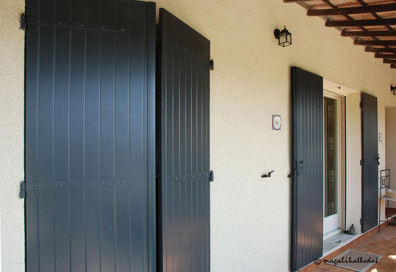 Peindre Volets Bois Beautiful Dlicieux Idee Deco Couloir