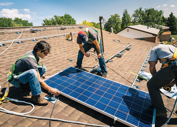 installing your own solar panels first