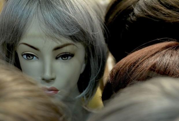 Haare Perücken Köpfe Haarteile Echthaar