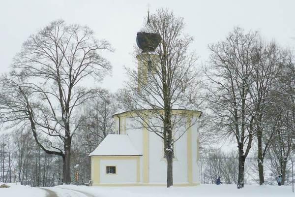 Kappelle im Schnee