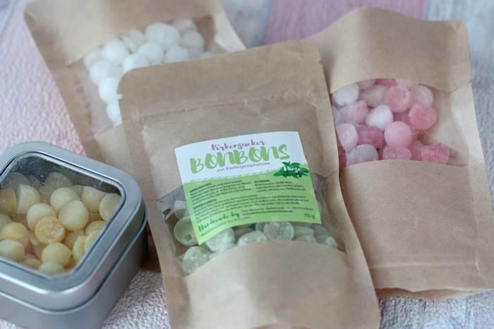 LowCarb und Naschereien Birkenzucker Bonbons