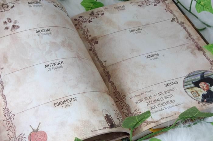 Buchbox Bücherwunderland Unboxing Terry Pratchett Kalender