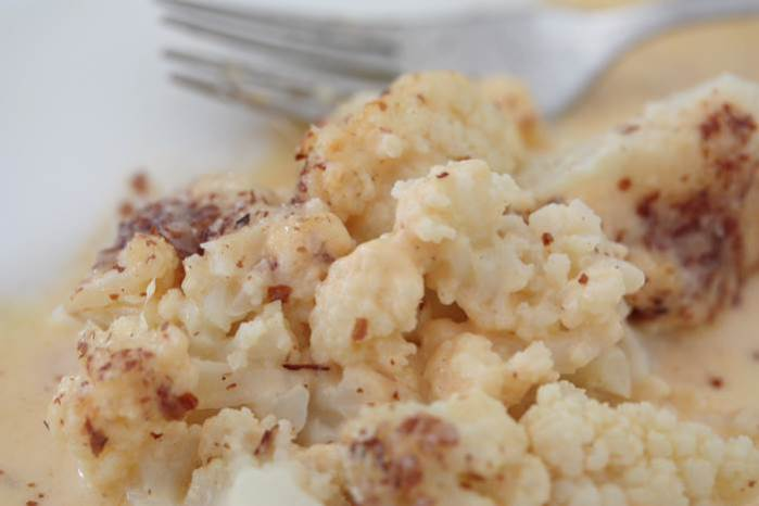 LowCarb - Cheesy Cauliflower Rezept