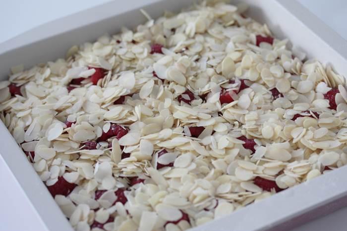 LowCarb - Himbeer-Mandel-Kuchen, Rezept, low carb