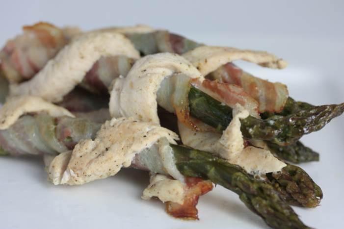 LowCarb - Twisted Green Asparagus grüner Spargel Rezept low carb
