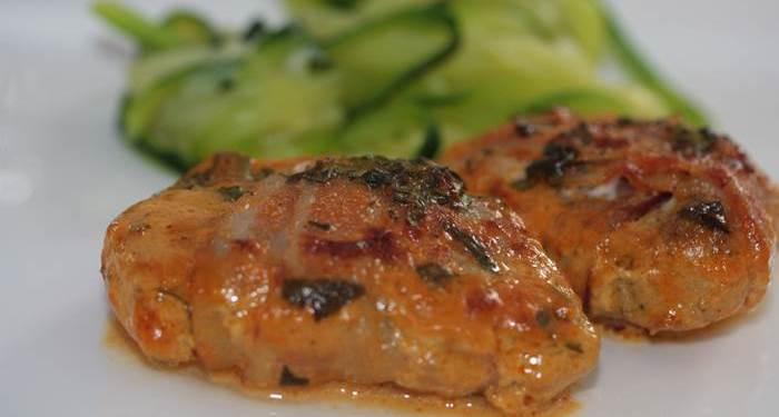 Schweinefilet im Baconmantel-LowCarb-Rezept