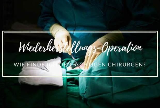 plastischen Chirurgen-Wiederherstellung-Operation-WHO