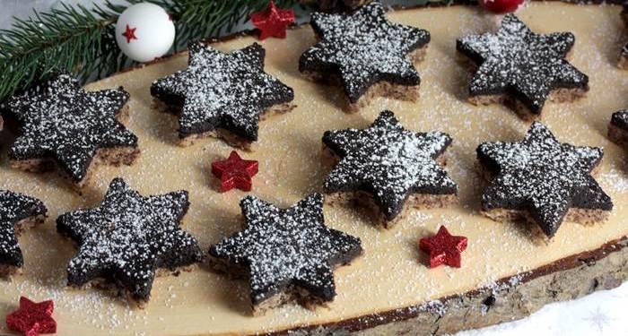 Altwiener Schokosterne-lowcarb-Rezept-Altwiener-Weihnachten-Plätzchen