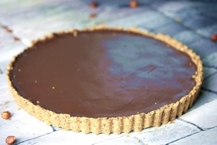 Low Carb Schokoladen-Tarte-Schoktarte-lowcarb-Rezept