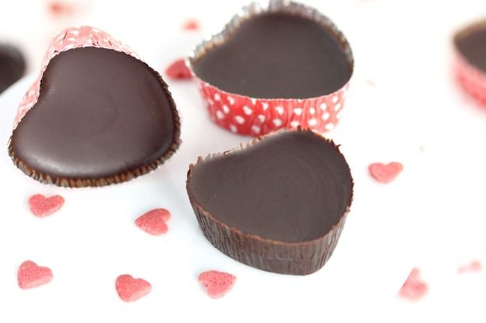 Low Carb Eiskonfekt-Konfekt-Schokolade-Valentinstag