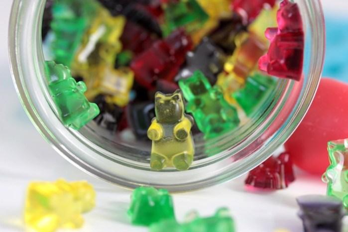 Low Carb Gummibärchen-zuckerfreie Gummibärchen Rezept