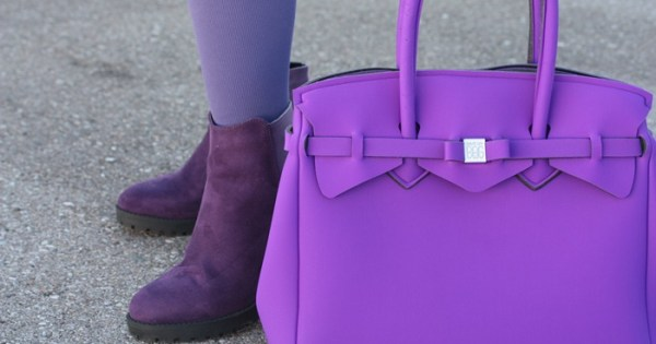 Juzo Violet Sound-Trendfarbe-Kompression-Outfit-Büro