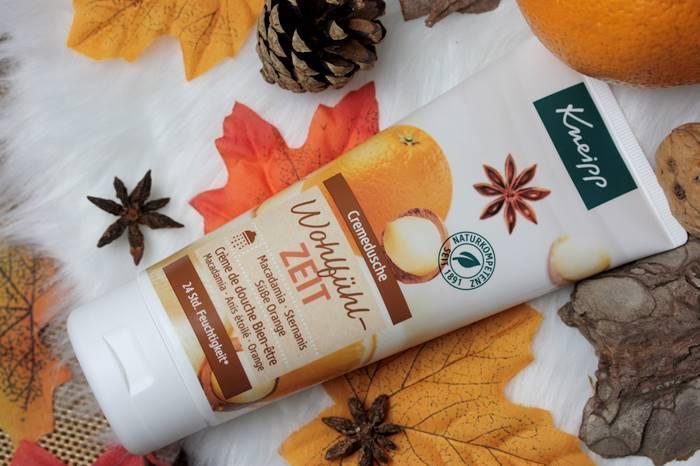 Kneipp Herbstneuheiten Wohlfühlzeit Cremedusche