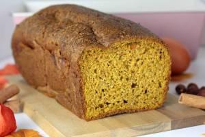 Kürbisbrot Low Carb-zuckerfrei-glutenfreies Brot