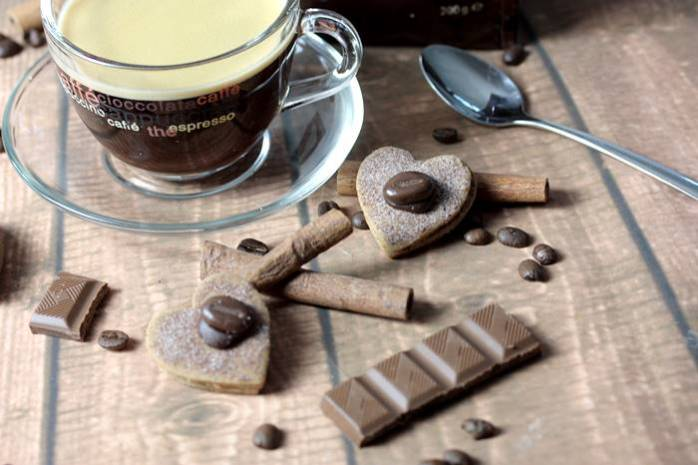 Schokoladen Kaffee Kekse-Low Carb-Kaffeekekse-Melitta