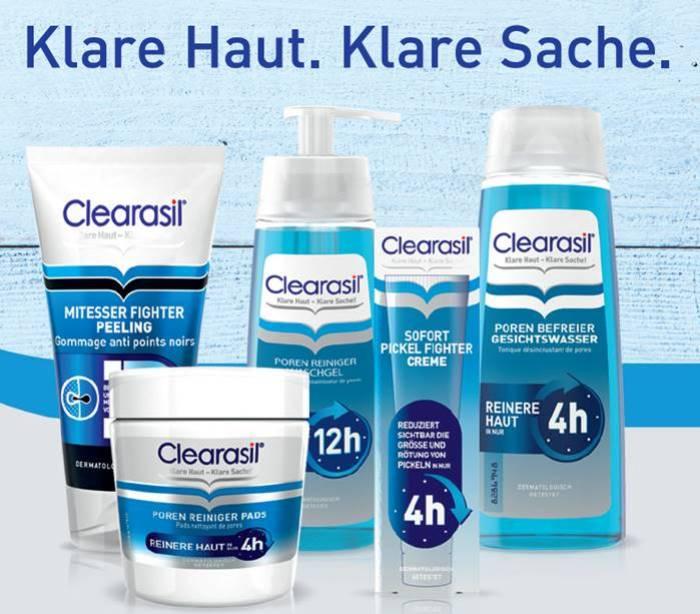 Clearasil-Poren Reiniger Tabs-Mittesser-Pickel-Pflege-Akne