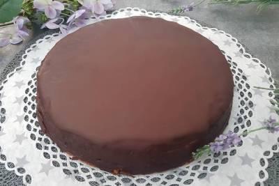 Sachertorte-Low Carb Sachertorte-Schokoladenkuchen