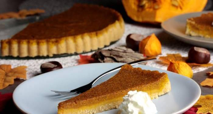 Low Carb Pumpkin Pie-Kürbiskuchen-Kürbisrezept
