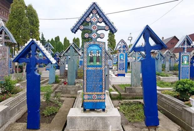 Fröhlicher Friedhof-Rumänien-Sehenswürdigkeit