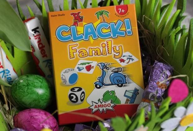 Clack! Family-AMIGO Spiele-Spieletipp-Kartenspiele
