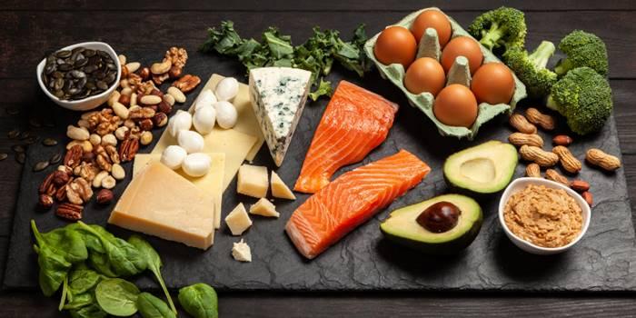 Ketogen-Hautbild-Ketogene Ernährung-Beschreibung ketogen-Snacks