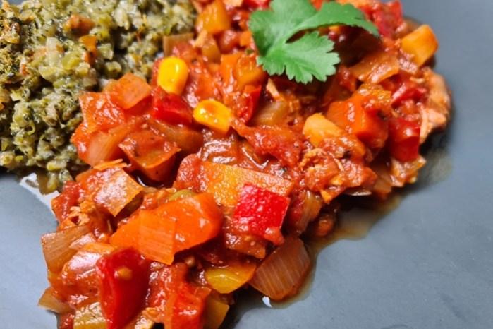Chili con Pollo-Hähnchen Chili-Low Carb Rezept