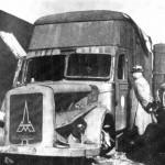 Camion camera a gas utilizzato nel campo di Sajmište