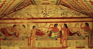 La cucina degli Etruschi