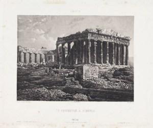 Partenone 1839. Pierre-Gustave Joly De Lotbienér