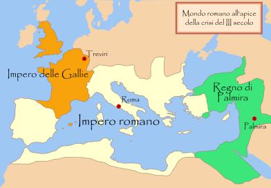 La crisi nell'impero romano nel III e nel del IV secolo
