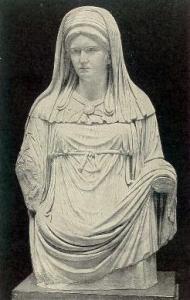Virgo Vestalis Maxima, la somma sacerdotessa di Vesta