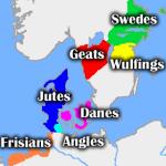 Mappa dei territori e delle tribù del poema