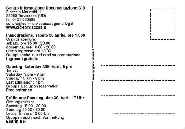 Labor omnia vincit - cartolina invito cm 15x10,50002
