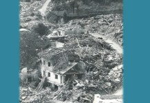 """Copertina del libro """"Fassìn di bessôi. Il terremoto del Friuli 40 anni dopo""""."""