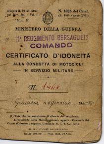Patente militare 1941 0001