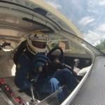 Pancotti pilota alla guida della sua Bmw M5