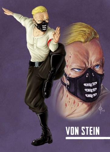 Von Stein, Artwork di Davide Quaroni per Agon WWII